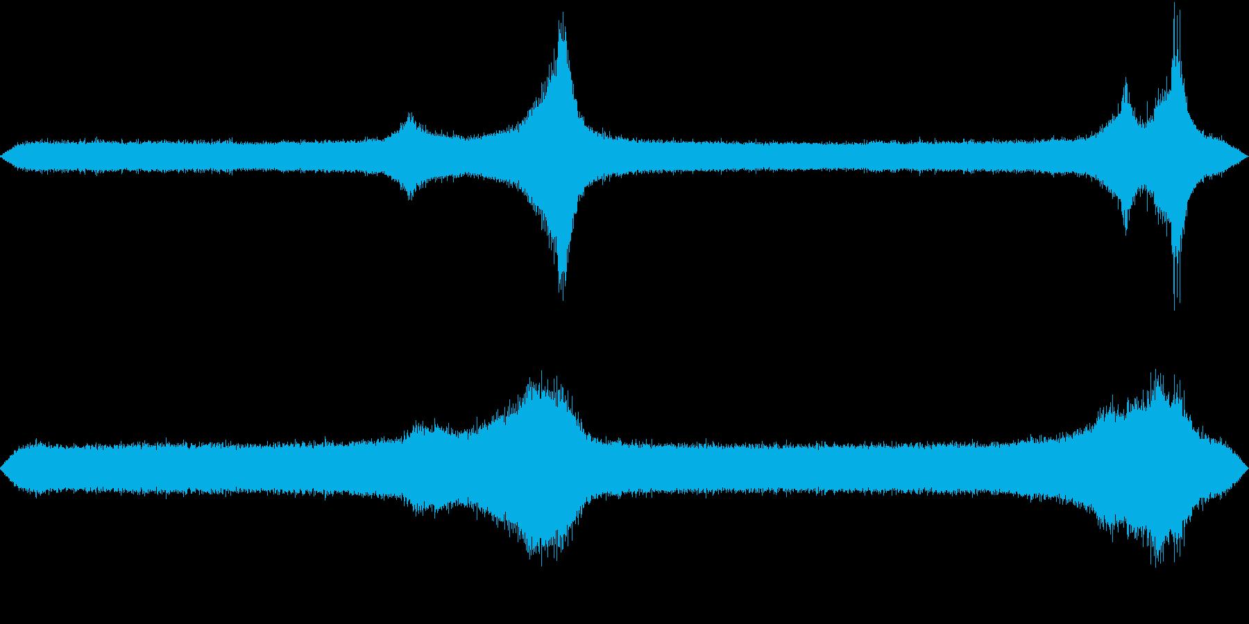 【生録音】初夏の夜の環境音 虫の声 2の再生済みの波形