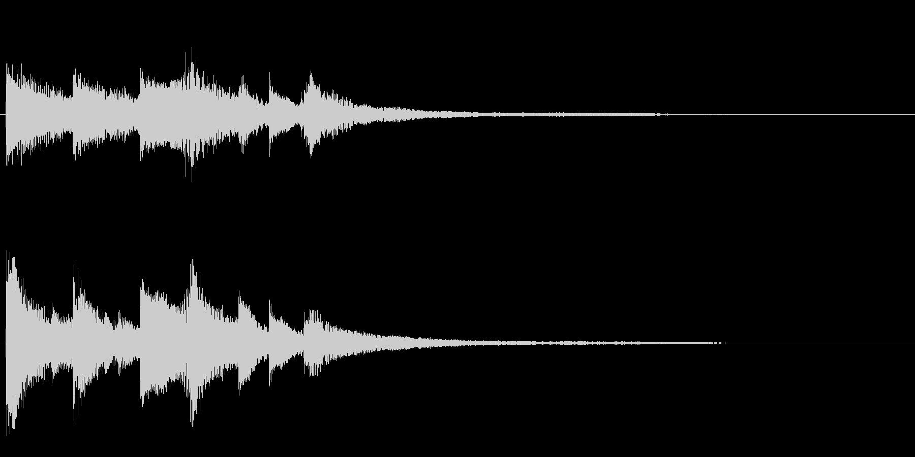 ピアノジングル04_aの未再生の波形