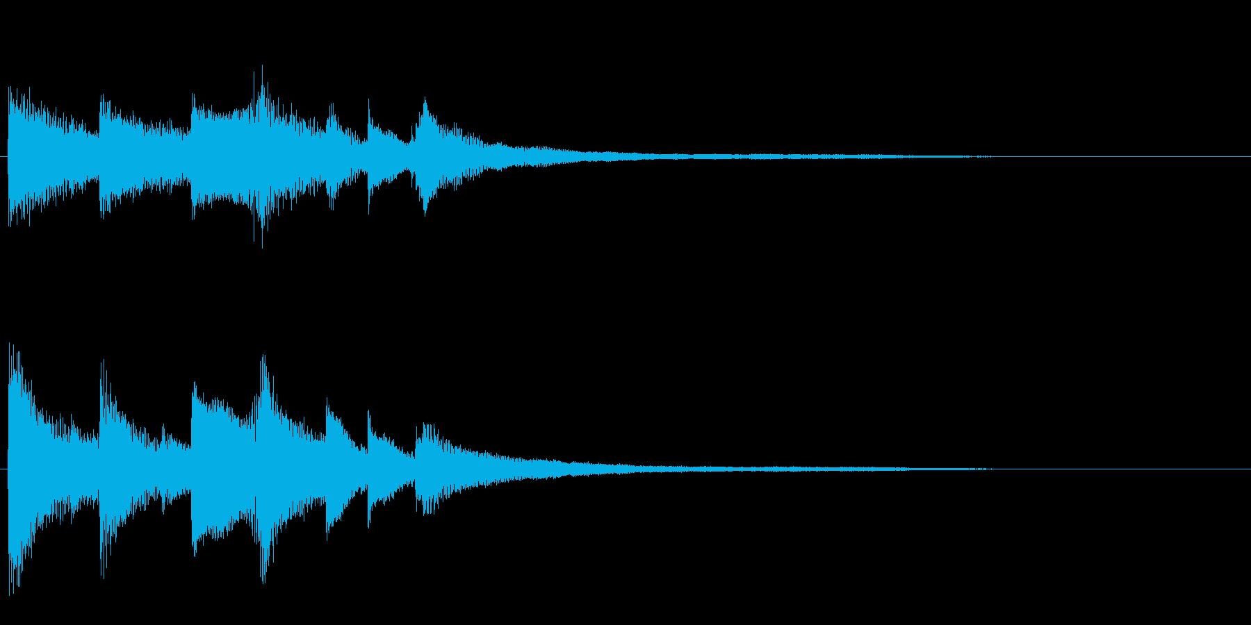 ピアノジングル04_aの再生済みの波形