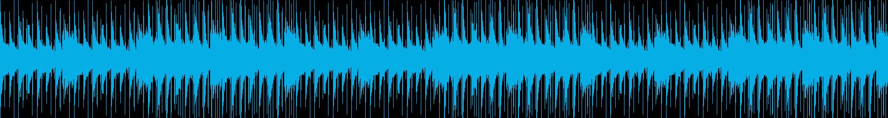 チルアウト、おしゃれ、ヒップホップの再生済みの波形