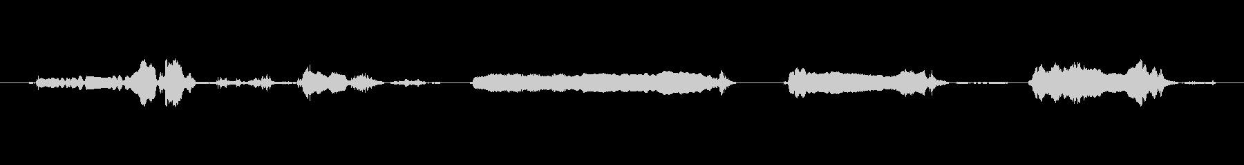犬 GSP ワインロング02の未再生の波形