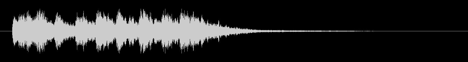 クイズ等で「不正解!」の定番効果音-2の未再生の波形