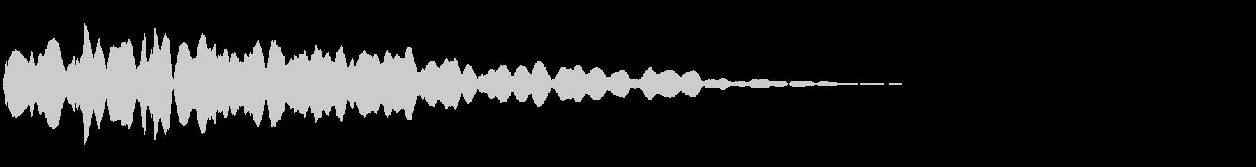 ポン:ドキュメンタル風不思議に思う音の未再生の波形