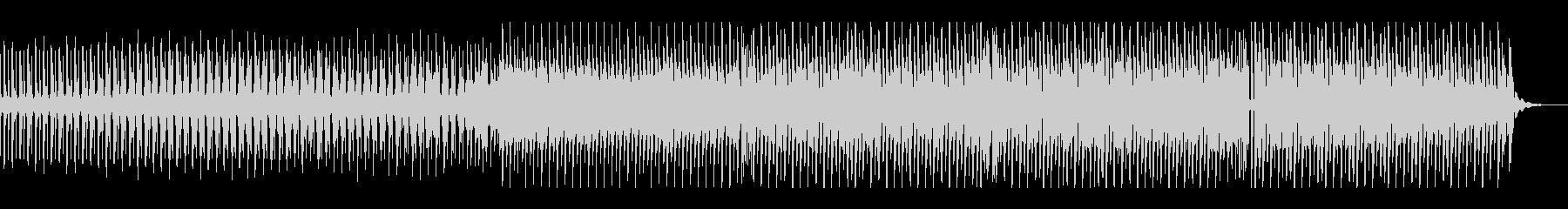 おしゃれなエレクトロスウィング02の未再生の波形