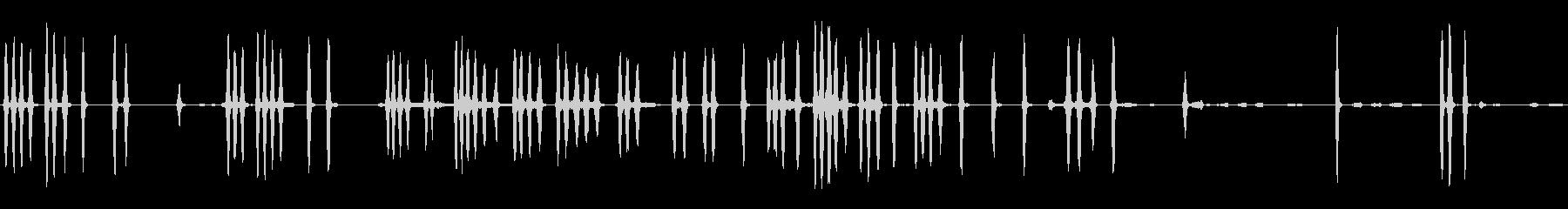 大型攻撃犬:犬の鳴き声、うなり声、泣き言の未再生の波形