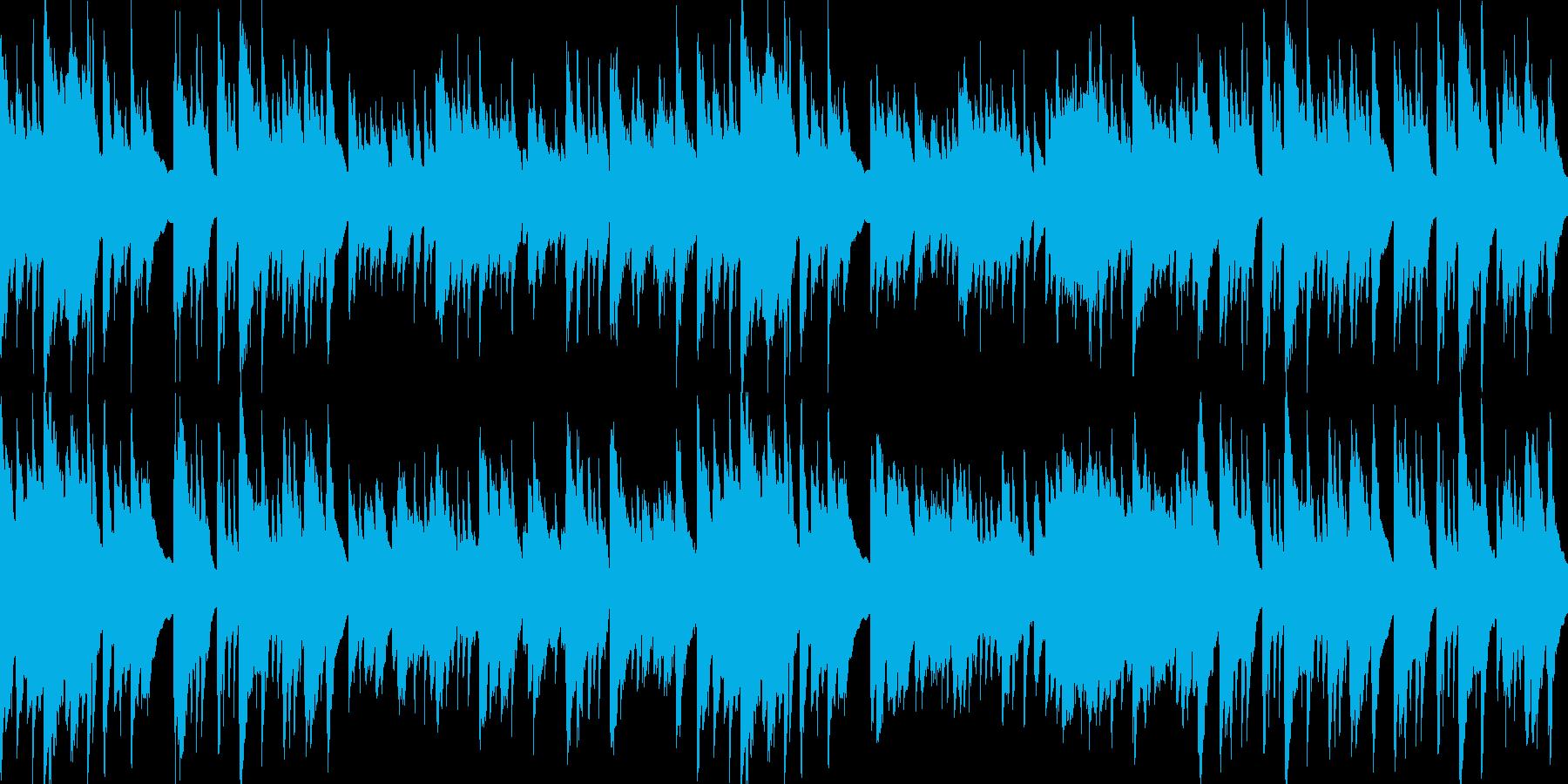 アコースティックギターほのぼのLOOPの再生済みの波形