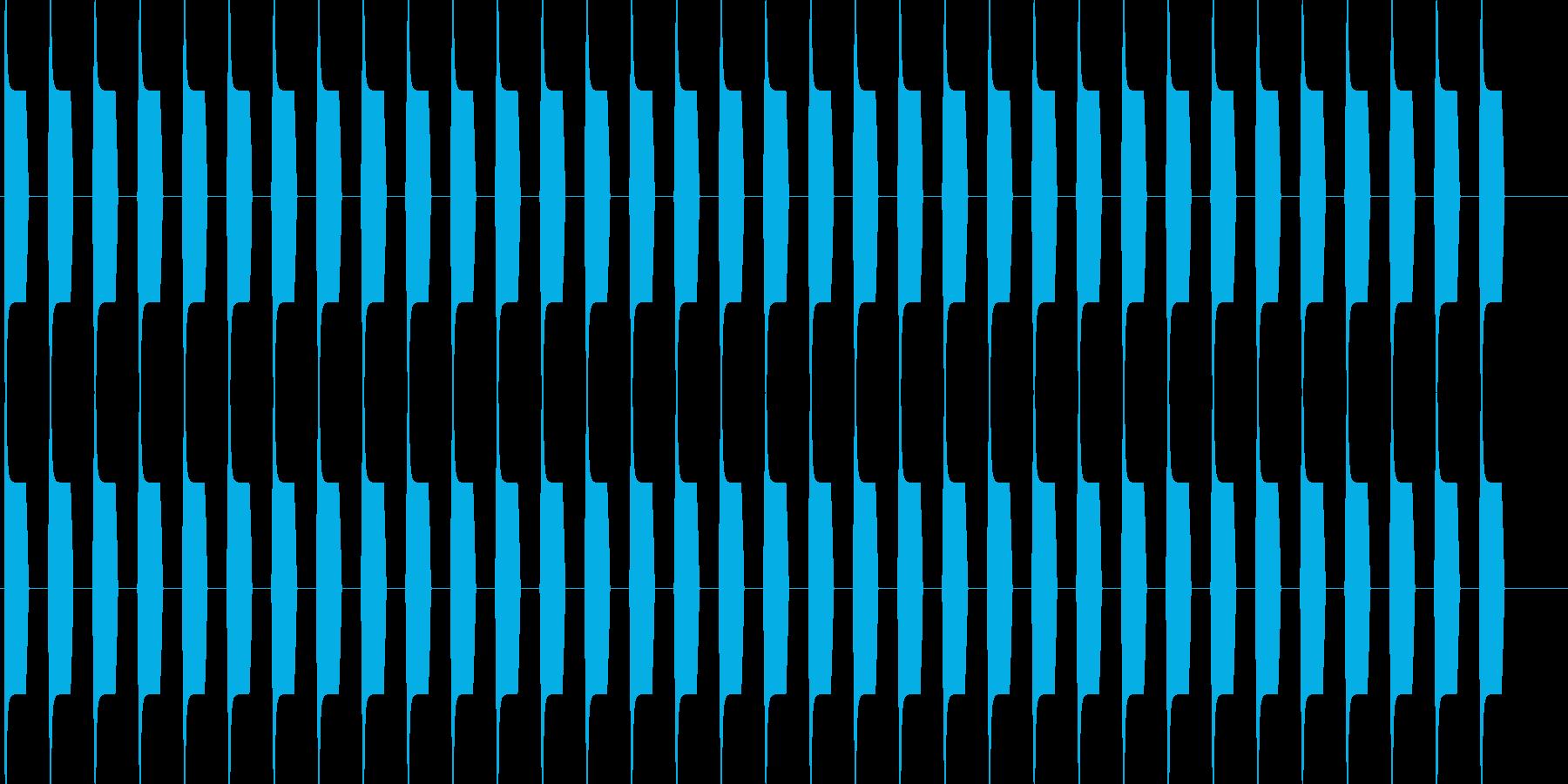 ブーブー な警告音 緊急連絡 アラーム2の再生済みの波形
