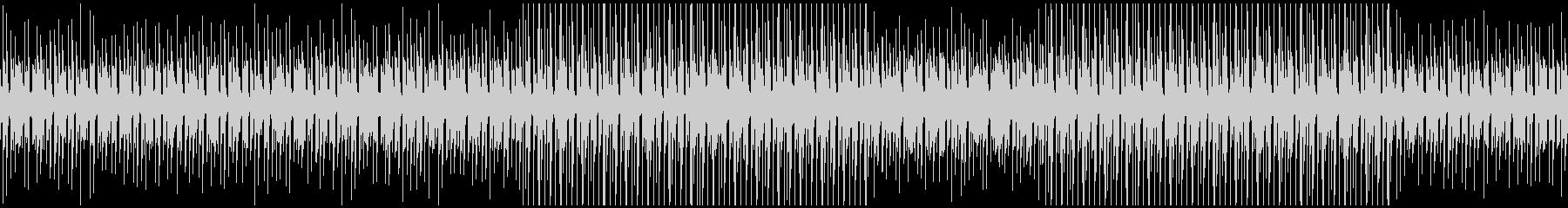 何気ない日常系BGMの未再生の波形