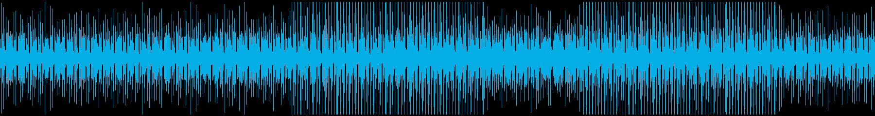 何気ない日常系BGMの再生済みの波形
