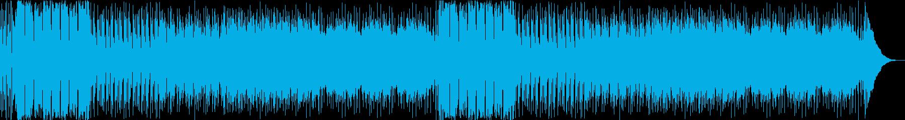 シンプルで爽やかロックの再生済みの波形
