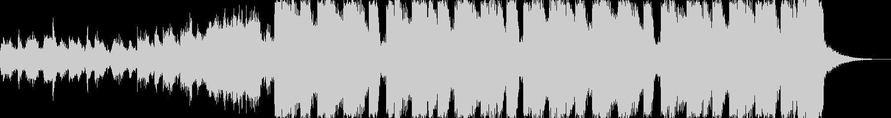 ピチカートドラムンベースエレクトロcの未再生の波形