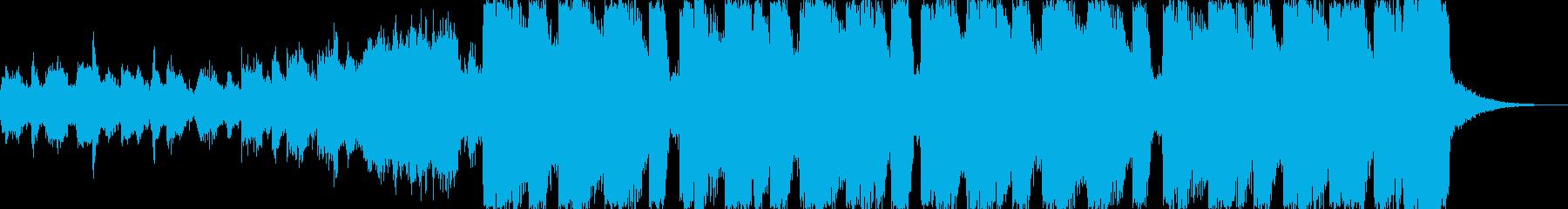 ピチカートドラムンベースエレクトロcの再生済みの波形