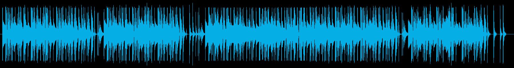 ほのぼのした口笛ソングの再生済みの波形