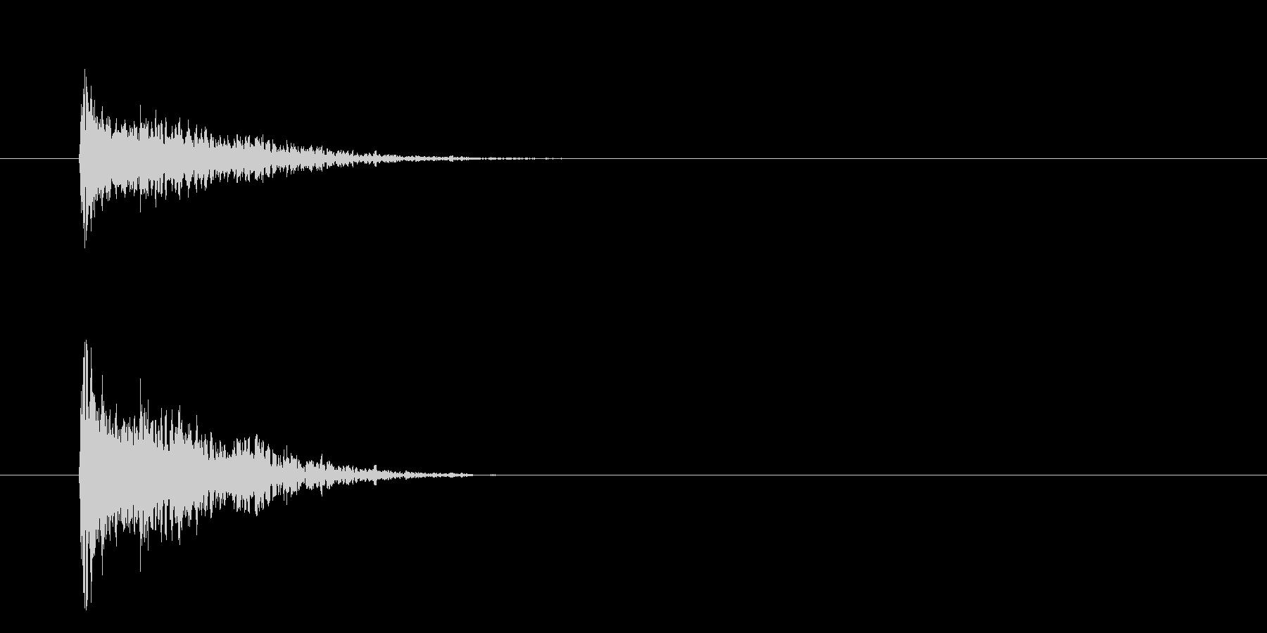 バンッ!【ハンドガン・拳銃・軽装備】の未再生の波形
