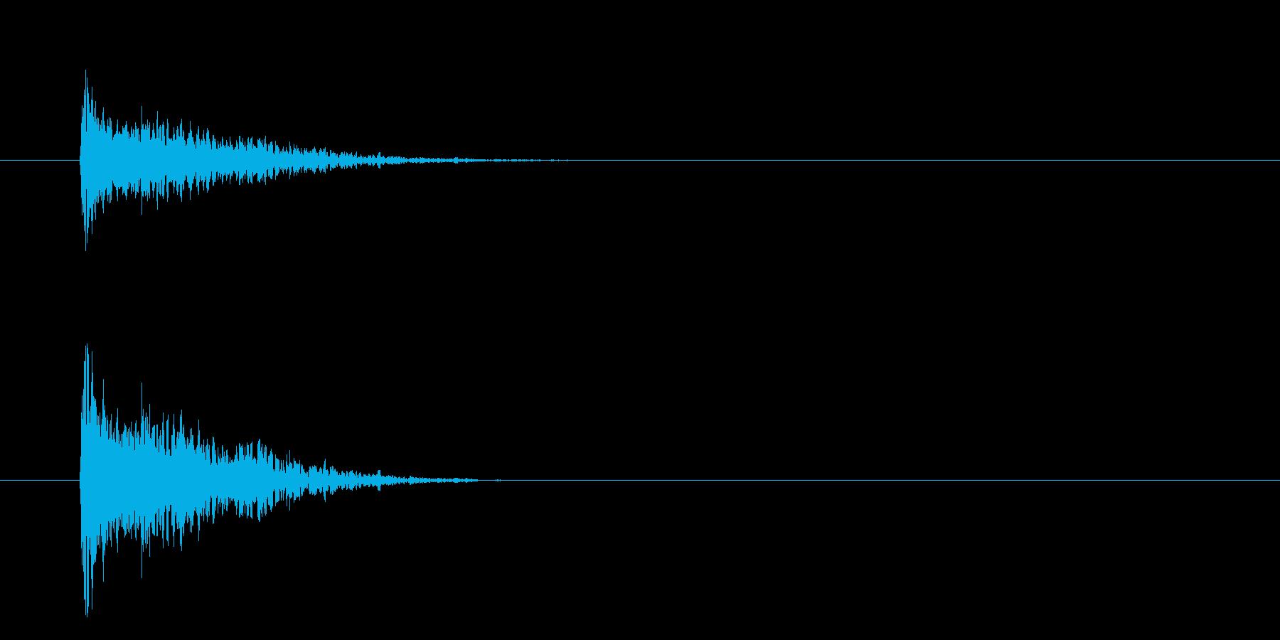 バンッ!【ハンドガン・拳銃・軽装備】の再生済みの波形