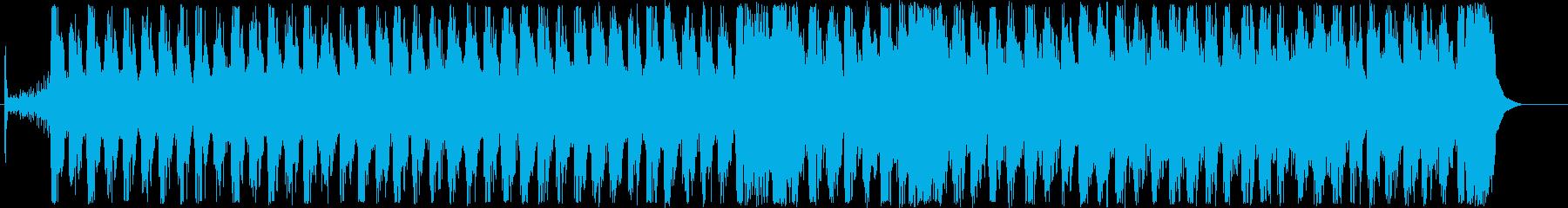 明るく元気なテンポの良い吹奏楽の再生済みの波形
