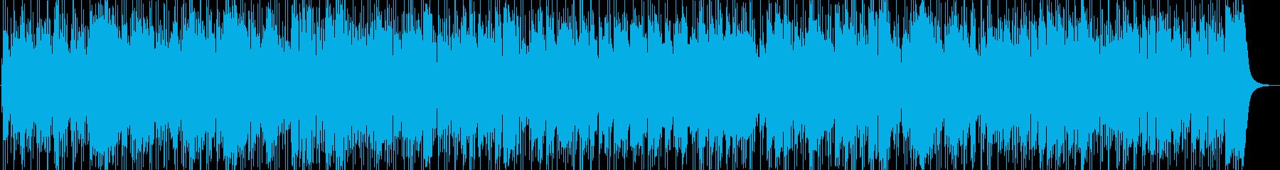夢に向か音楽は素晴らしい、スムースジャズの再生済みの波形