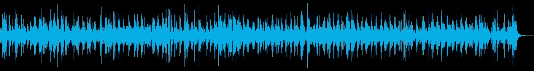 哀愁、悲しい、スパニッシュボレロギターの再生済みの波形