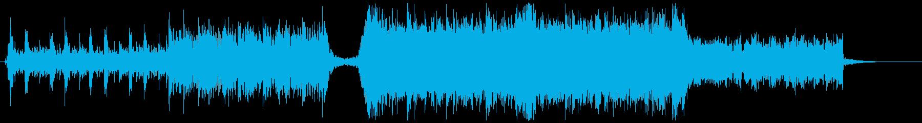 劇伴 ロック オーケストラ 60秒版の再生済みの波形