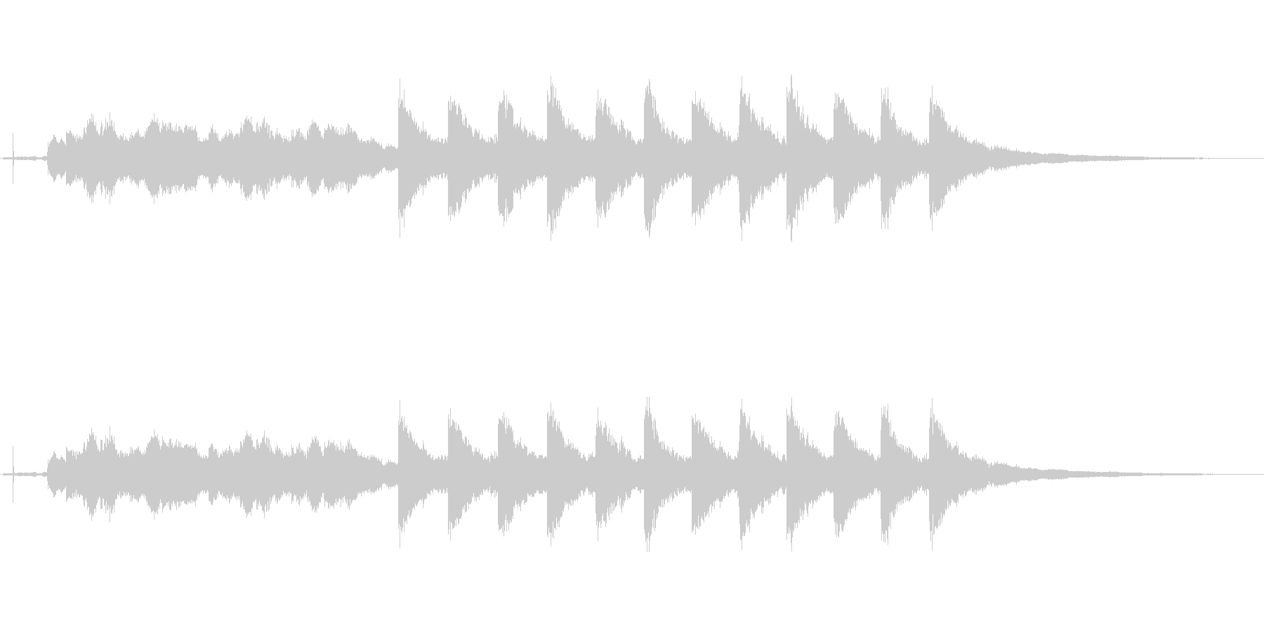 ウェストミンスター:TWELVE ...の未再生の波形