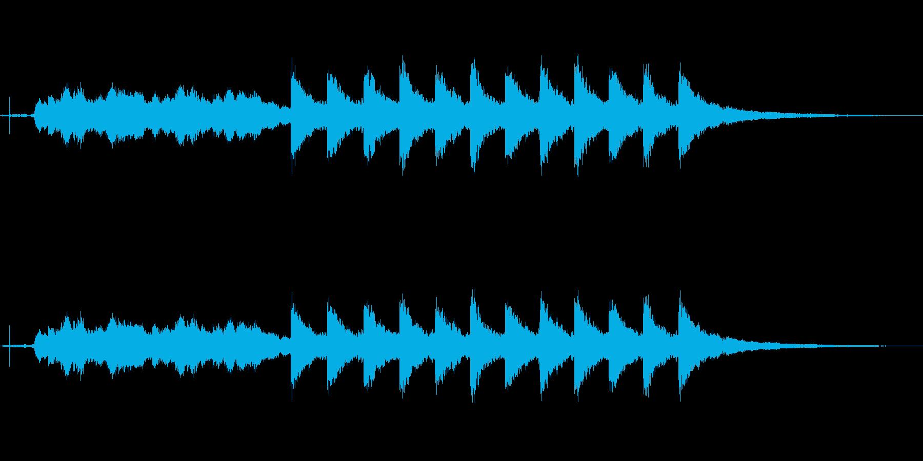 ウェストミンスター:TWELVE ...の再生済みの波形