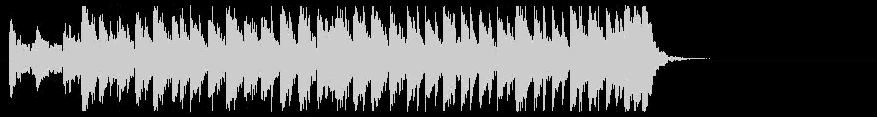 三味線 太鼓のアンサンブル4BPM130の未再生の波形
