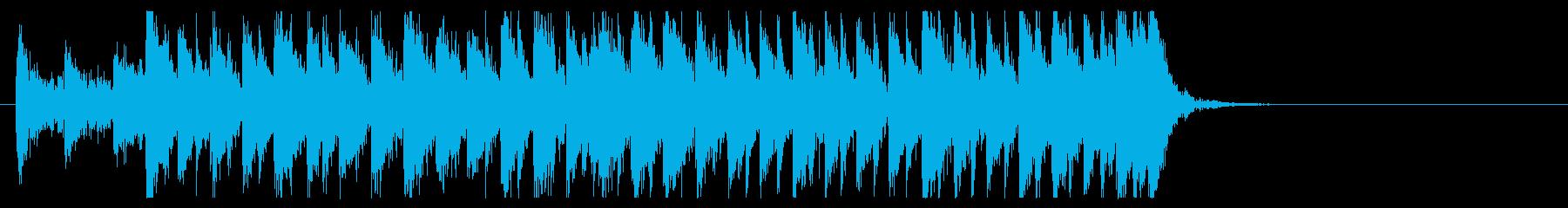 三味線 太鼓のアンサンブル4BPM130の再生済みの波形