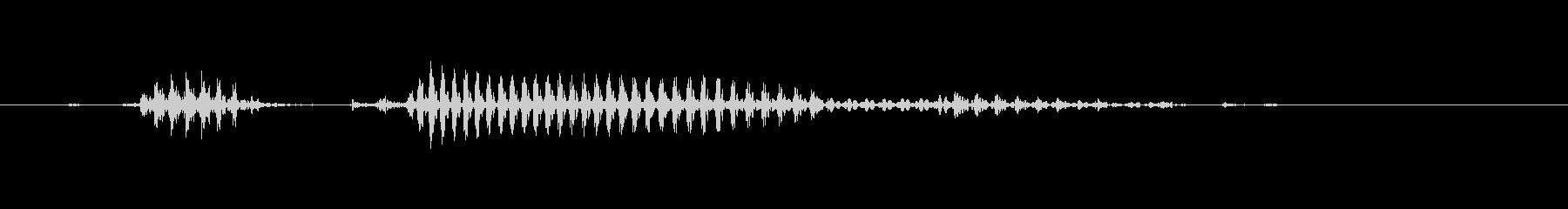 和歌山(県名)の未再生の波形