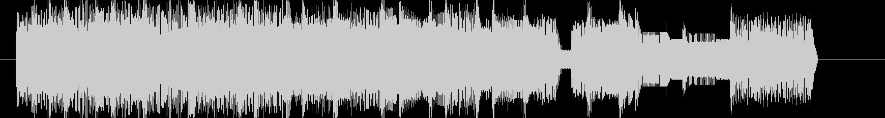 8bitレトロゲーム風ラグタイムジングルの未再生の波形