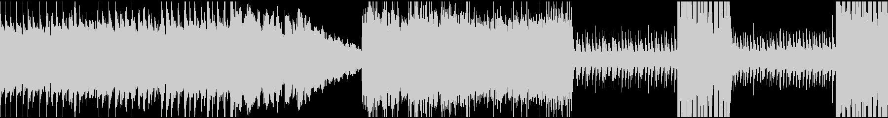 速い変拍子の曲の未再生の波形