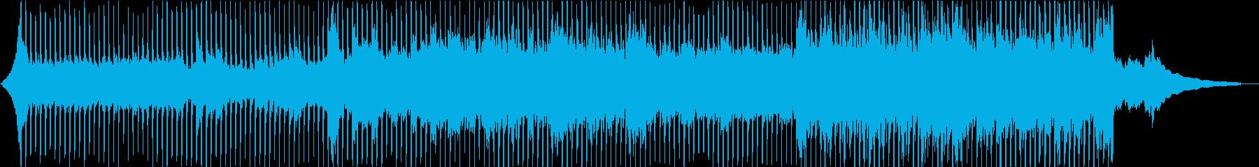 企業VP・爽やかなアコギ・4つ打ちの再生済みの波形