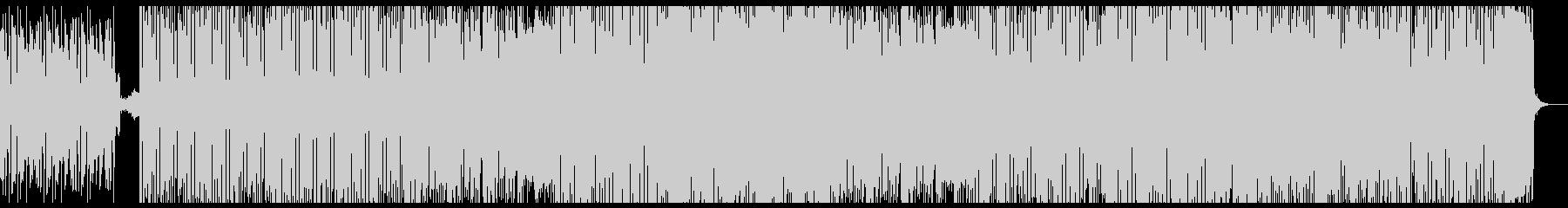ファンクで怠惰な曲の未再生の波形