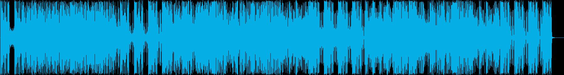カフェで落ち着いて聴けるピアノトリオの再生済みの波形