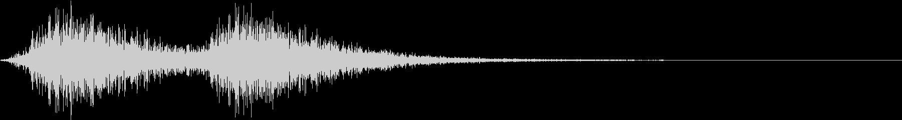 Battle 戦闘エフェクト音 2の未再生の波形