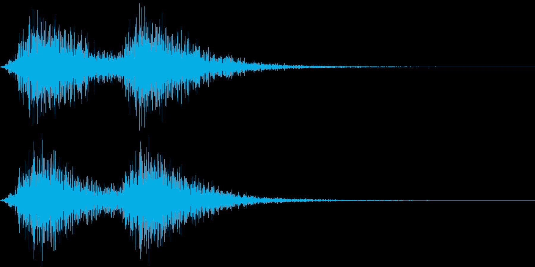 Battle 戦闘エフェクト音 2の再生済みの波形