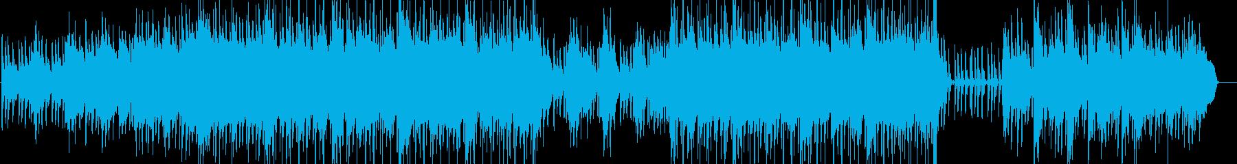 インディーロック 劇的な 淡々 ア...の再生済みの波形