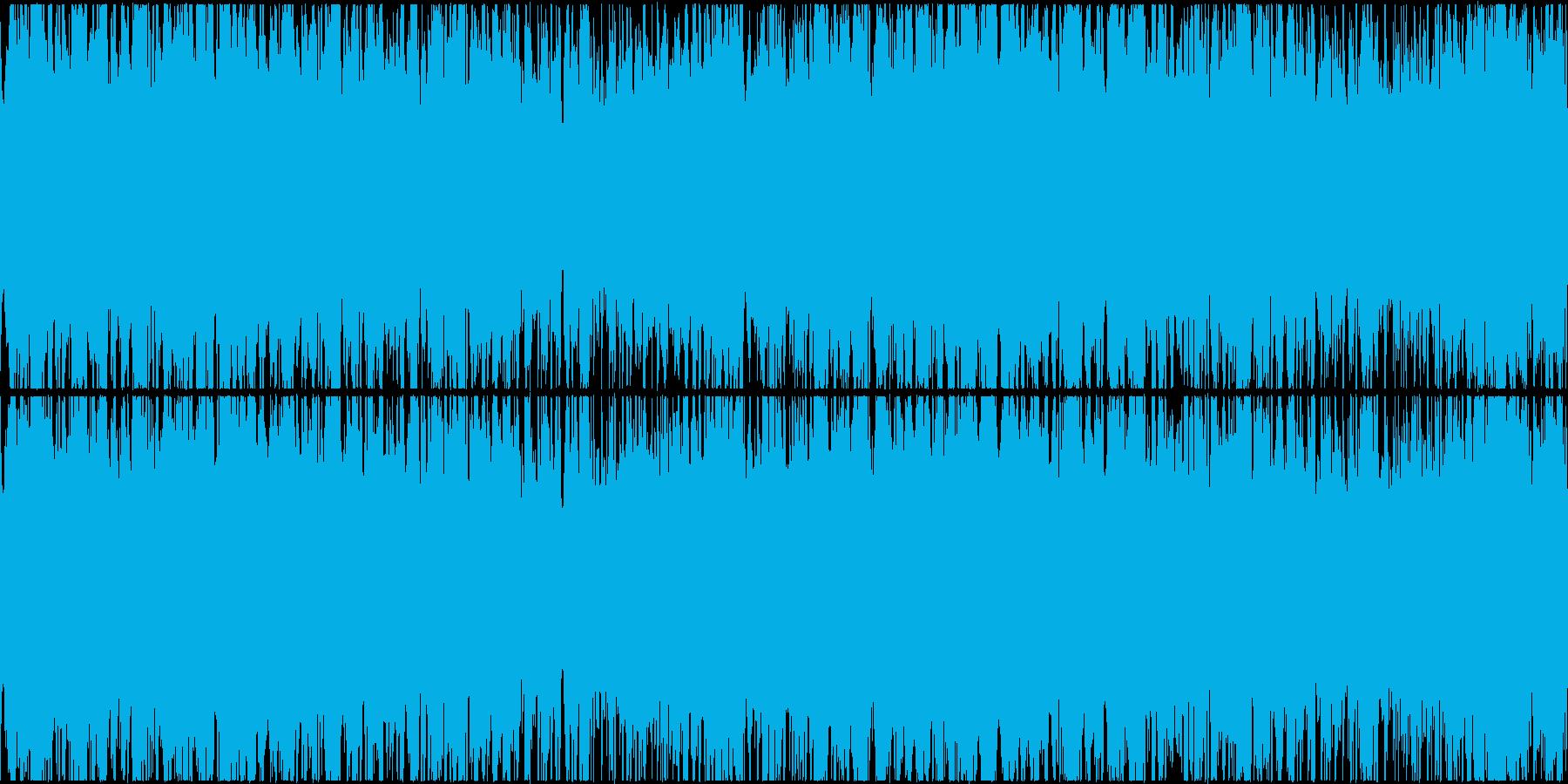 幻想的なシンセとピアノのポップスです。の再生済みの波形