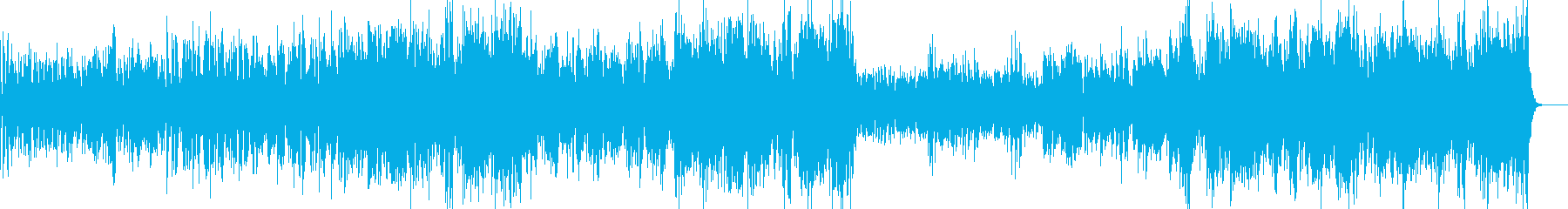 ラテン系男性ボーカルリズミカルなホ...の再生済みの波形