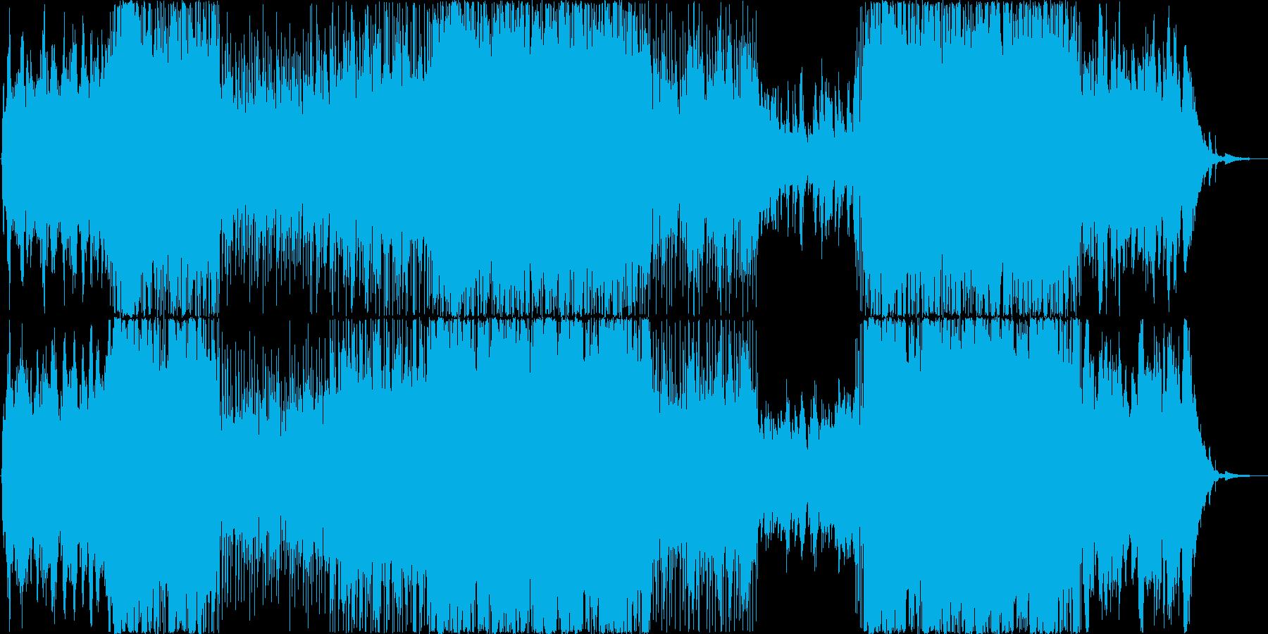 おしゃれ6の再生済みの波形