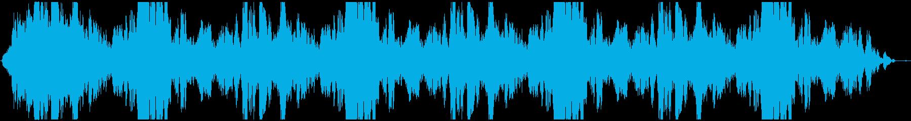 ドローン スプライス03の再生済みの波形