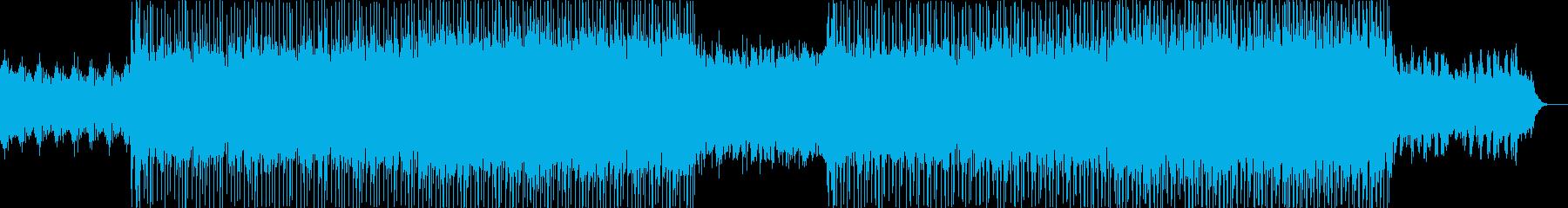 オープニング企業VPイベント-05の再生済みの波形