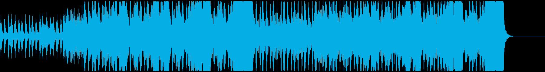 荘厳なオーケストラ風の再生済みの波形