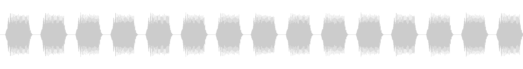 警告・注意・アラート音01(ループ対応)の未再生の波形