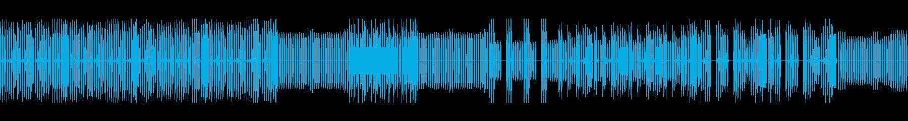 勇壮、雄々しいレトロゲーム風バトルBGMの再生済みの波形