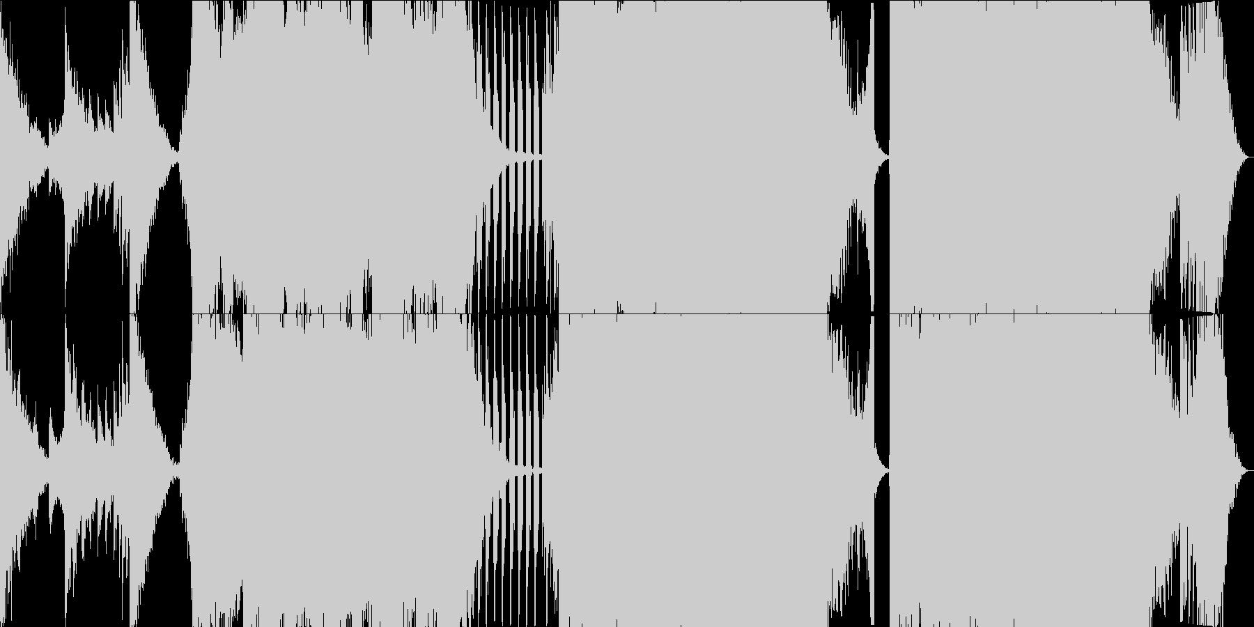 KANTシネマティック絶望と決意FULLの未再生の波形