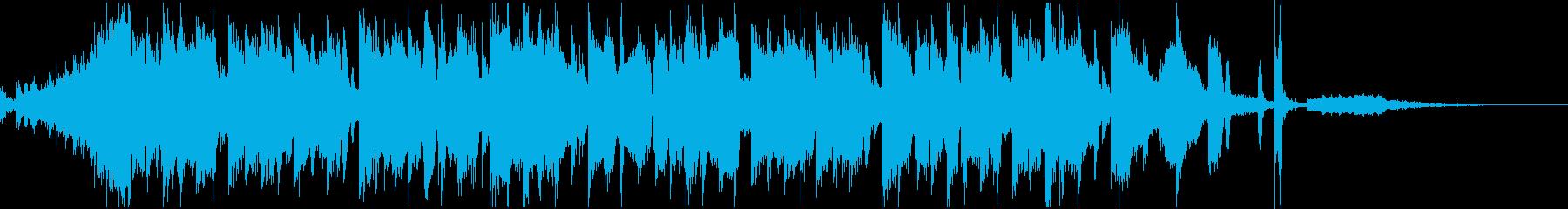 Future POPヴォーカルのジングルの再生済みの波形