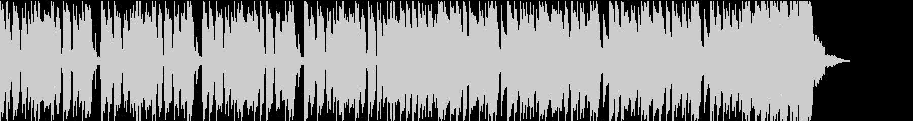 尾行を撒くシーンにあうBGM_2の未再生の波形