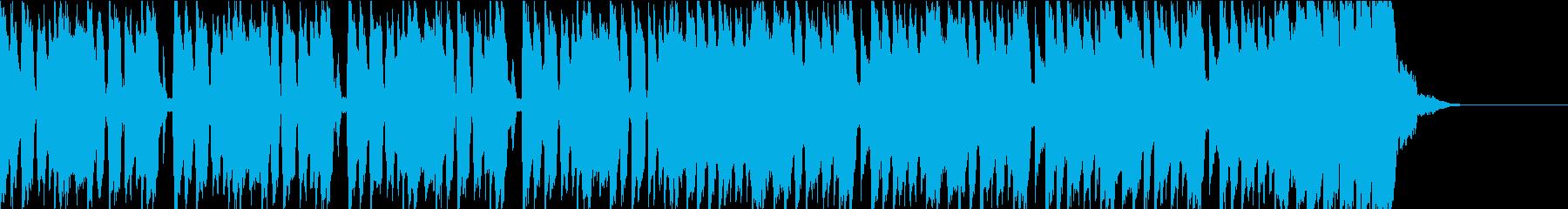 尾行を撒くシーンにあうBGM_2の再生済みの波形