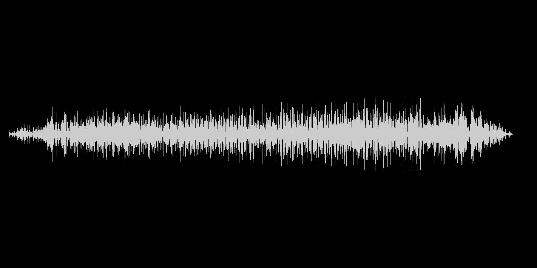 ヴォォォォの未再生の波形