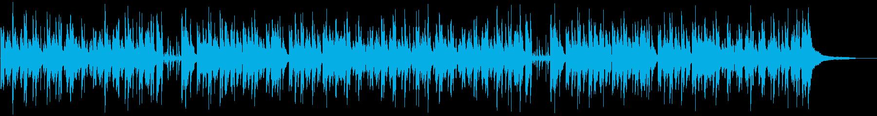 ポップなメロディの落ち着くピアノジャズの再生済みの波形